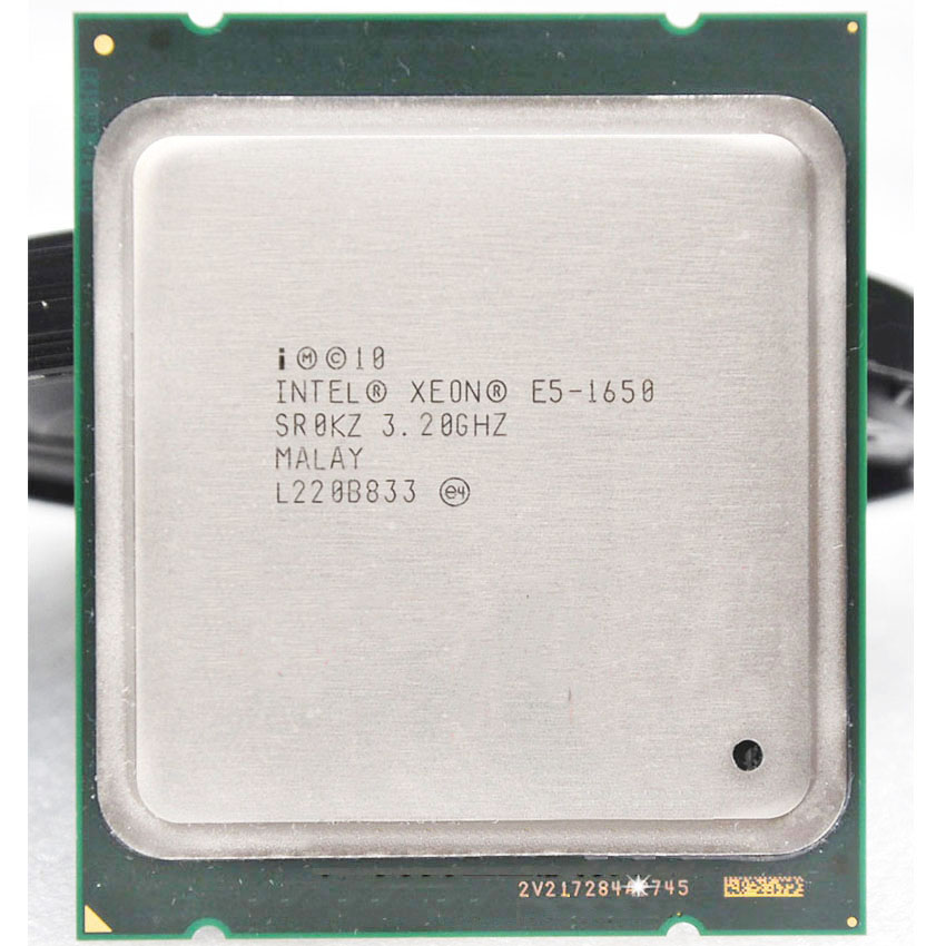 Intel Xeon E5 1650 E5-1650 E51650 3.2GHz 6 Core 12Mb Cache <font><b>Socket</b></font> <font><b>2011</b></font> CPU Processor suitable <font><b>X79</b></font> motherboard image