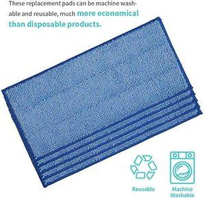 Image 3 - Vervanging Microfiber Mop Pads Voor Swiffer Wet & Dry Mop Starter, Wasbaar En Herbruikbare Vullingen