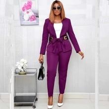 2 peça conjunto áfrica roupas 2020 dashiki africano novo dashiki moda terno parte superior e calças super elástico festa mais tamanho para a senhora