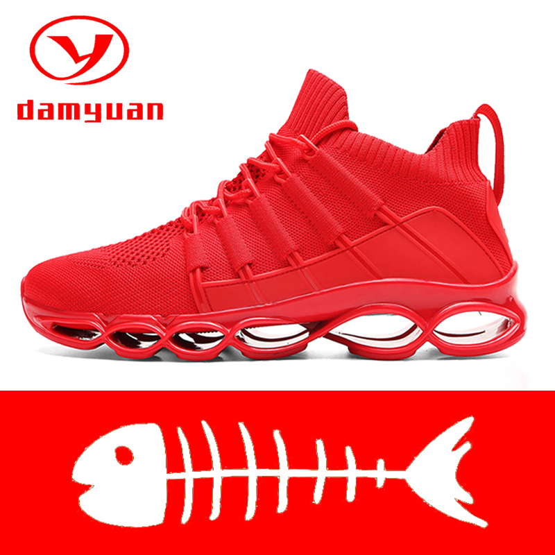 New Blade Shoes Fashion Breathable Sneaker Running Shoes 46 Large Size Comfortable Sports Men's Shoes 47 Jogging Casual Shoes 48 4
