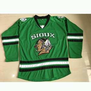 North Dakota Fighting Sioux ice hockey jersey street shirt #16 BOESER NCAA