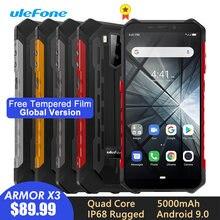 Прочный смартфон ulefone armor x3 ip68/ip69k android 90 55 дюйма