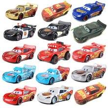 Carro de brinquedo personagens disney, car2 disney pixar, relâmpago mcqueen, carro fundido sob pressão, 1:55 lotes de novos manchas brinquedos dos miúdos