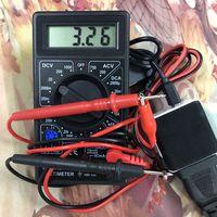 2x AA AAA Batterie Eliminator USB 5V zu 3V Schritt unten Kabel Spannung Konverter Linie Für Uhren Remote control Spielzeug Rechner CD Pl Drucker-Netzteile Computer und Büro -