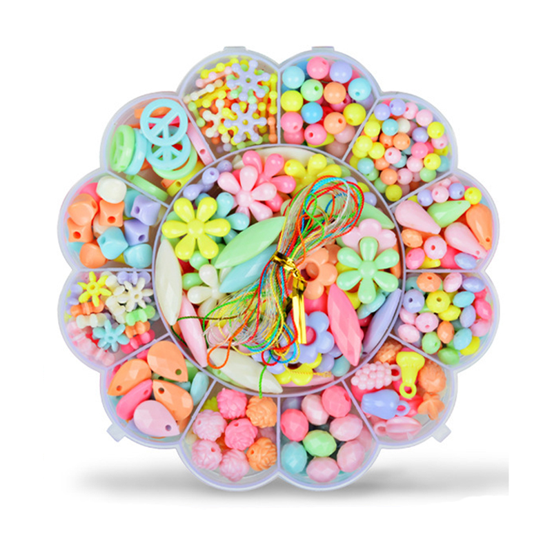 Creative Diy Jewelry Making Handmade Beaded Educational Toys For Girl Gift With Accessory Set