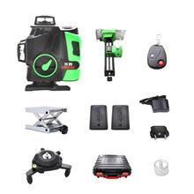 2020 New Professional 16 Line 4D laser level Japan Sharp green 515NM Beam 360 Vertical And Horizontal Self-leveling Cross