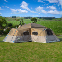 One bedroom outdoor folding living room outside the account, mountain camping, rainproof sunshade, UV protection tent