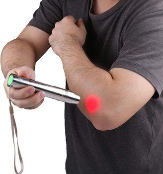 DGYAO 660nm красный светильник прибор для медицинской терапии противовоспалительное облегчение боли в коже домашний массажер для шеи и спины