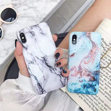 Phone Case For iPhone 11 Pro X XS Max XR Case Luxury Marble Soft Silicone Cover For iPhone 6 6s 7 8 Plus 11 Pro Max Case Cover new iphone case for iphone 11 for iphone11 pro max 5 8 inches 6 1 inches 6 8 inches 6 6s 7 8 plus ix xr max x fashion back cover