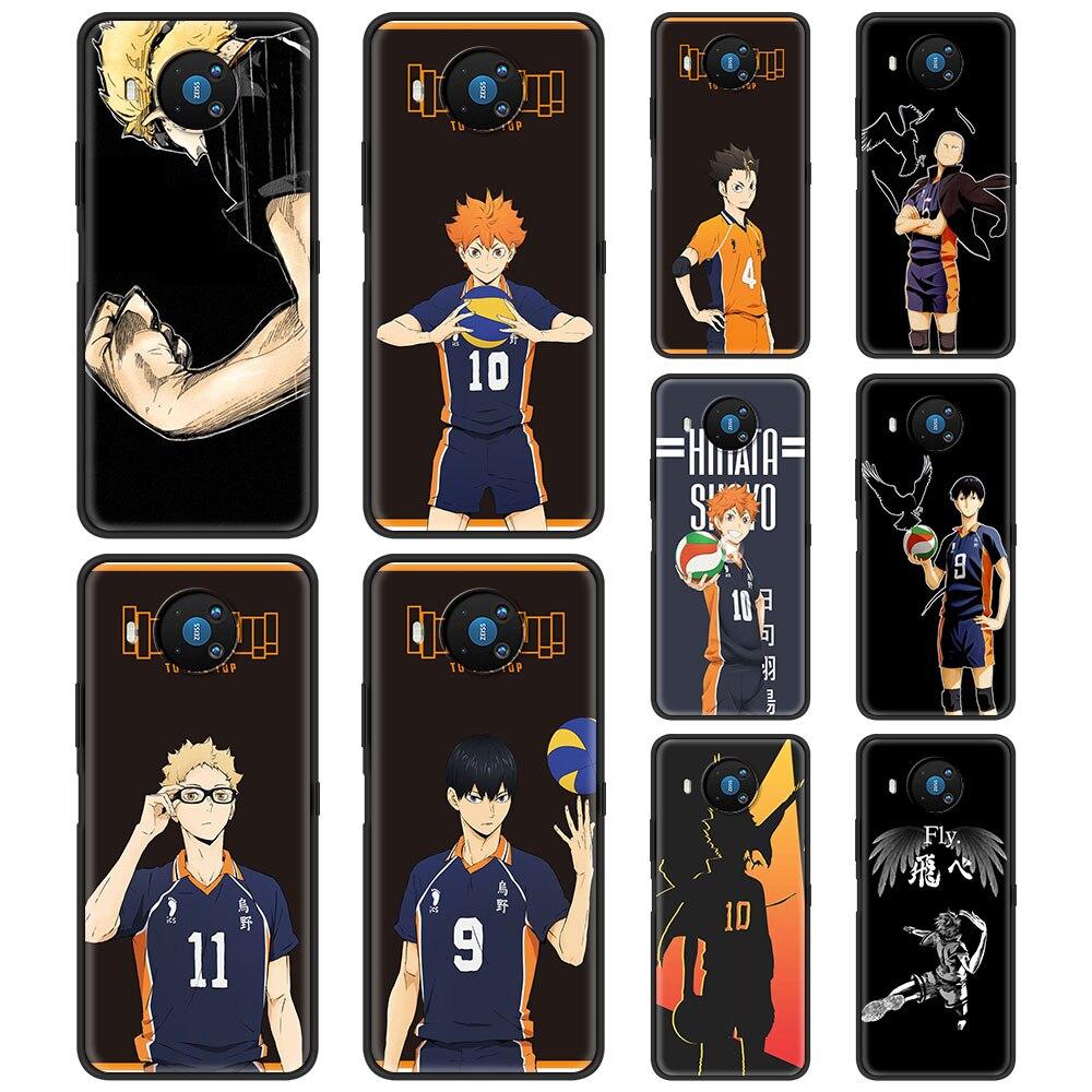 Anime Haikyuu For Phone Case Nokia 1.3 1.4 2.2 2.3 2.4 3.2 3.4 4.2 5.3 5.4 7.2 8.3 5G C3 C2