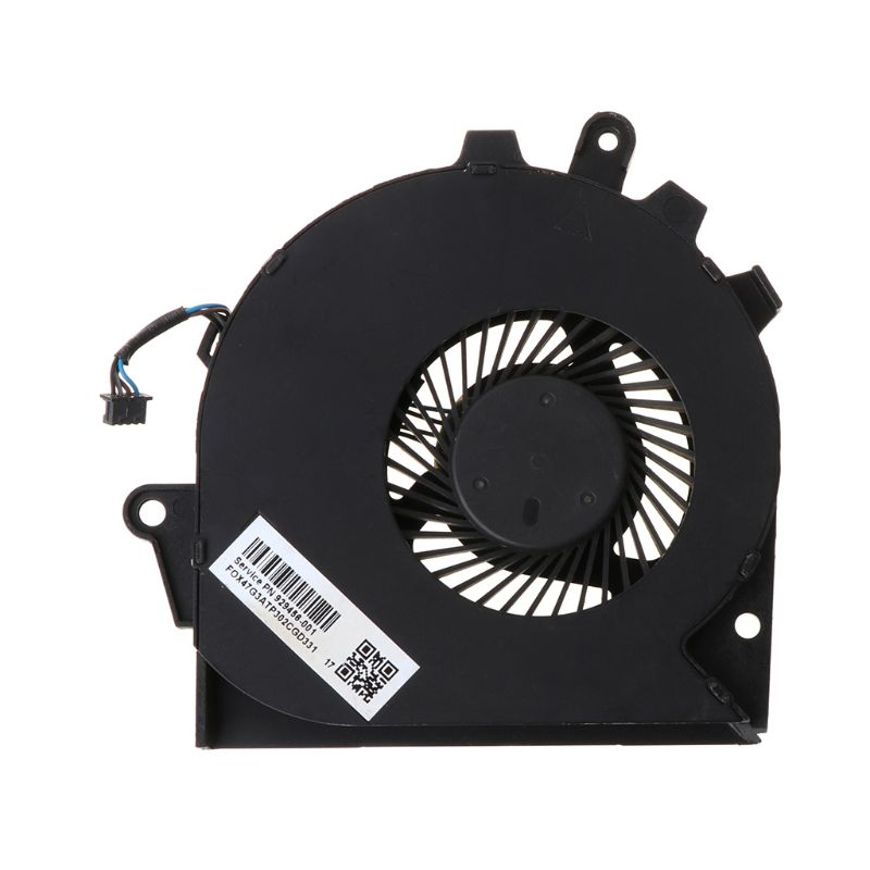 Black Metal Replaced Laptop <font><b>GPU</b></font> CPU Cooling Fan for HP OMEN 15-CE 17-AN Cooler Fan image