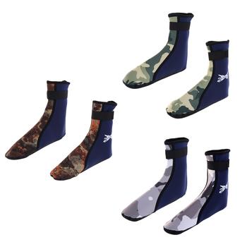 1 para 3MM buty do wody skarpetki plażowe neoprenowe buty do nurkowania Scuba Snorkel Booties pianka do surfingu sport wodoodporny dla mężczyzn kobiety tanie i dobre opinie Tooyful CN (pochodzenie)