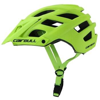 Novo cairbull ciclismo capacete trilha xc bicicleta capacete in-mold mtb capacete casco ciclismo estrada montanha capacetes de segurança boné 1