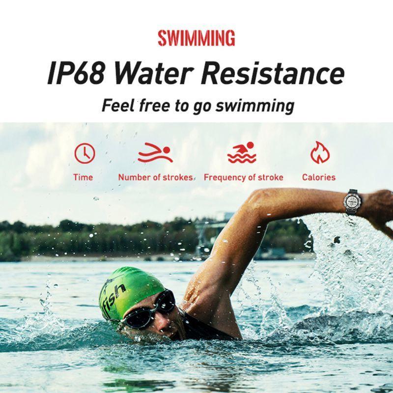 P1 mini GPS Smartwatch IP68 Waterproof Watches Sport Tracker Fitness Monitor Sport Message Reminder Long Standby