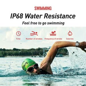 Image 5 - P1 mini GPS Smartwatch IP68 Waterproof Watches Sport Tracker Fitness Monitor Sport Message Reminder Long Standby