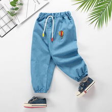 Baby Girl Clothes Cartoon Pattern Printing Clothes Kids Jeans Children Pants Summer Casual Denim Pants Baby Girls Jeans girls jeans 2018 cartoon cat plus size baby girls pants slim skinny kids leggings cotton casual children girls clothes 2507b
