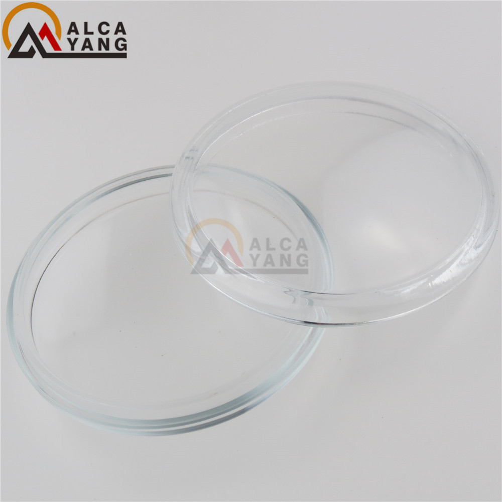 2pcs/set Round Diameter 90mm Fog Lamps Lights Tempered Glass Anti-fog Glass For Mitsubishi L200 Outlander Pajero Colt Triton ASX