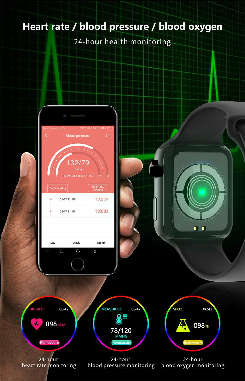 F10 Fitness Tracker ECG pulsera smartwatch 6