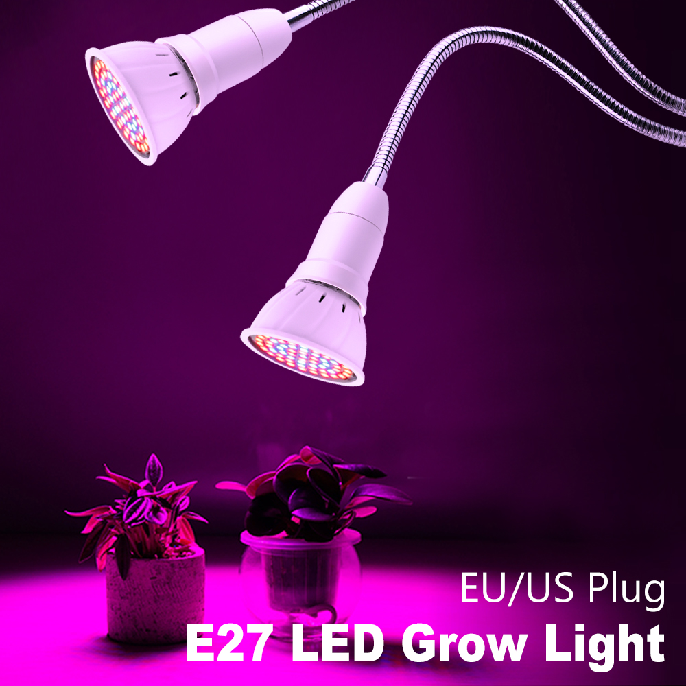 Growing LED Full Spectrum Light 3W 5W 7W 15W 20W E27 LED Grow Bulb LED Phyto Lamp Flower Seeds Hydroponic Tent Plant Light Bulb