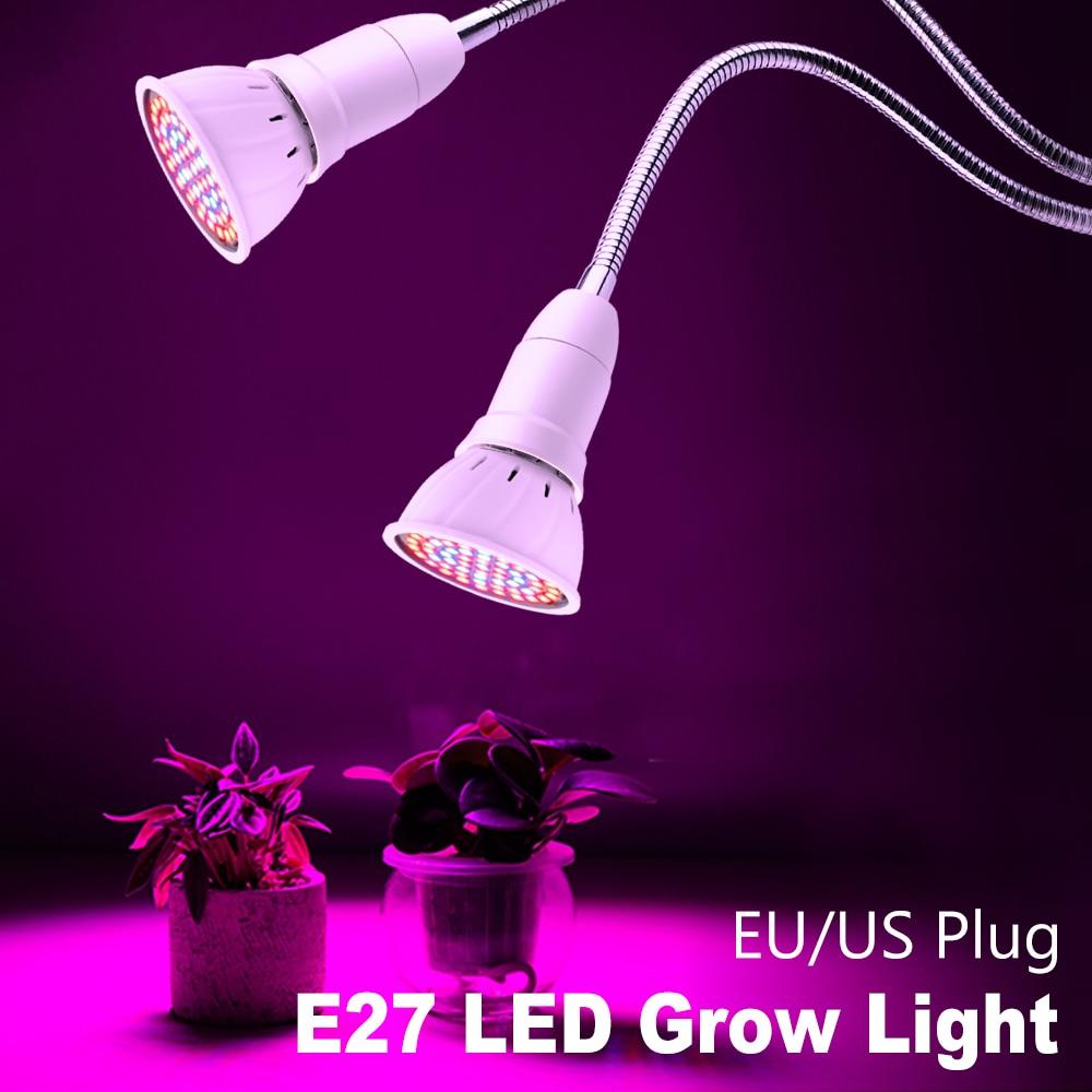Growing LED Full Spectrum Light 3W 5W 7W 15W 20W E27 LED Grow Bulb LED Phyto Lamp Flower Seeds Hydroponic Tent Plant Light Bulb