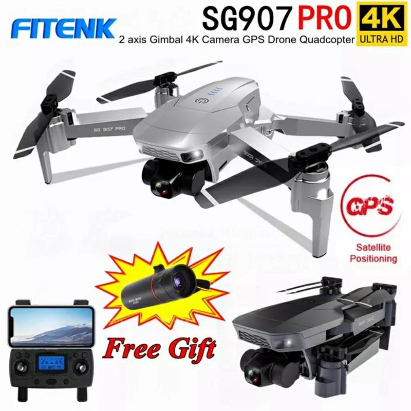 FITENK SG907 Pro Pro2 Drone 4K GPS 2 3 Axis Gimbal Professional with 5G WIFI HD Camera FPV Drones Profesional RC Dron Quadcopter