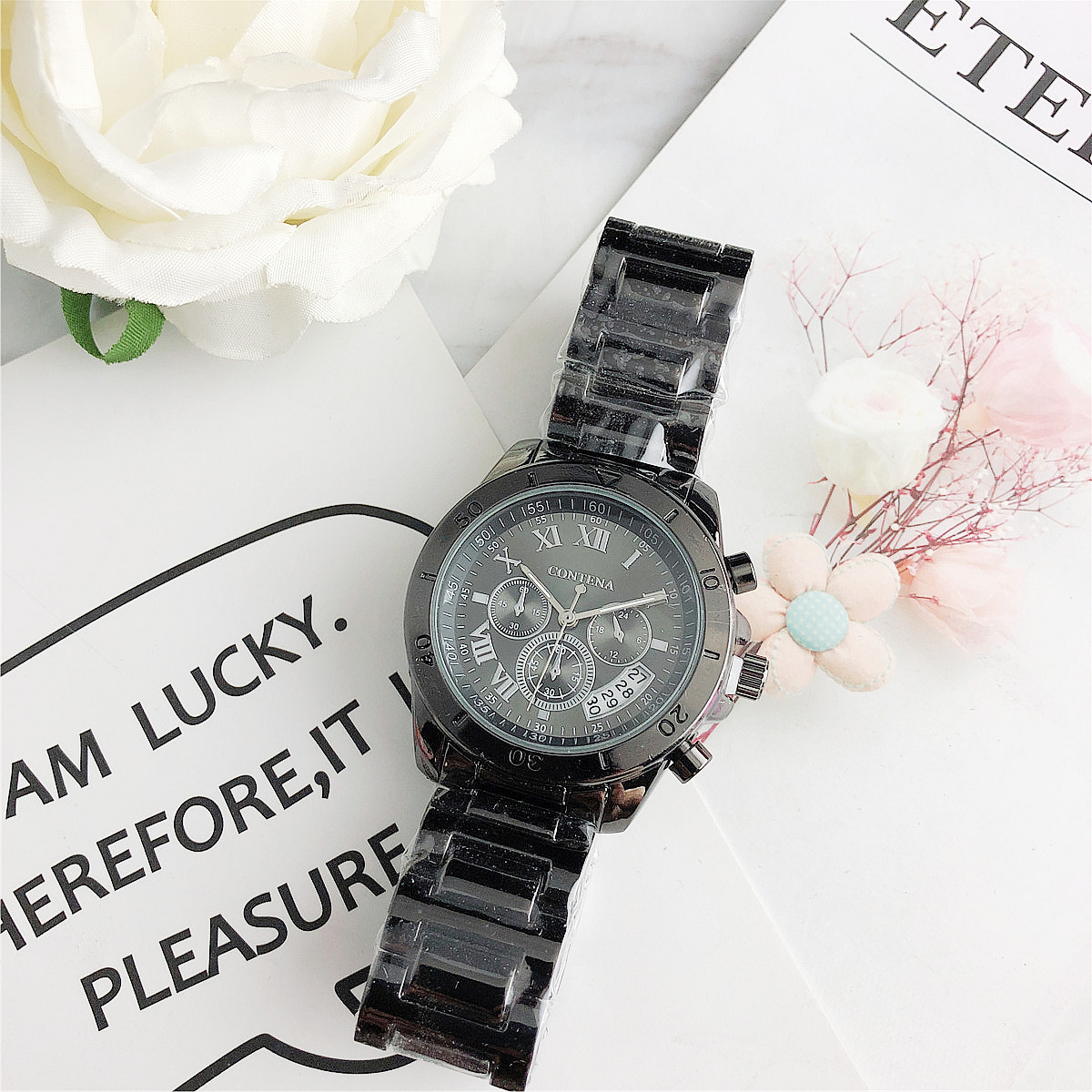 CONTENA Fashion Ladies Wrist Watch Feminino Montre Femme Nice Watches Luxury Top Brand Quartz Watch Female Clock Relogio