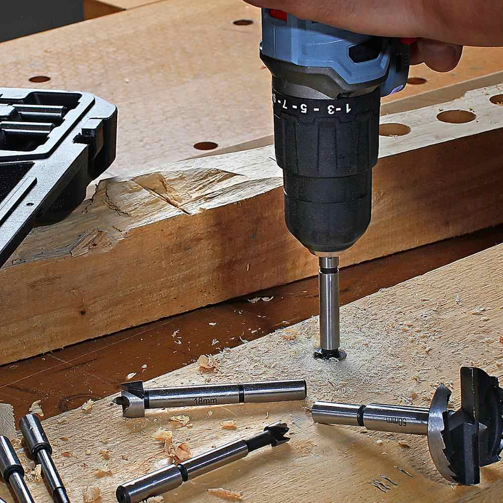 WORKPRO 16 قطعة مثقاب الخشب فورستنر s مجموعة 6 مللي متر-50 مللي متر الخشب مثقاب الخشب s 40CR الصلب النجارة أدوات ثقب المنشار مجموعة لقمة مثقاب