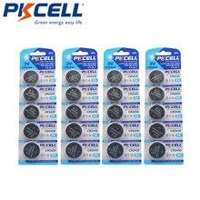 20 PCS PKCELL Batterie a Bottone DL2430 CR2430 BR2430 KL2430 Batteria Al Litio Della Moneta Delle Cellule 3 V CR 2430 Per La Vigilanza Elettronica giocattolo