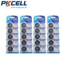20 PCS PKCELL CR2430 แบตเตอรี่ปุ่ม DL2430 BR2430 KL2430 เซลล์แบตเตอรี่ลิเธียม 3 V CR 2430 สำหรับนาฬิกาอิเล็กทรอนิกส์ของเล่น
