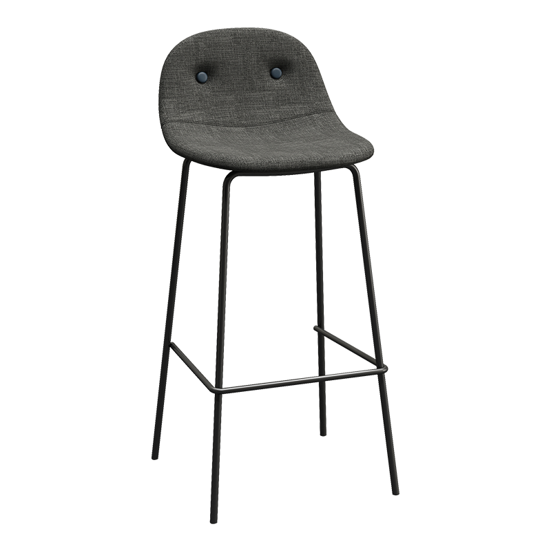 Bar Chair, Nordic Simple Fabric Soft Bag Bar Chair, Creative High Stool, Bar Stool, Bar Chair, Stool, High Chair