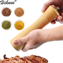 Кухонная мельница для перца из цельного дерева, ручная мельница для соли и перца с керамическим шлифовальным перцем, приправа для специй, барбекю, мельницы для соли и перца