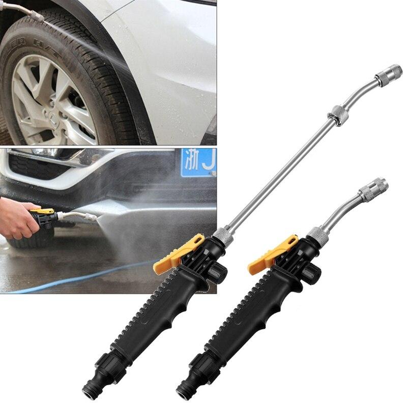 Neue 30cm/52cm Multifunktionellen Hochdruck Power Wasser Pistolen Spray Düse Auto Waschen Garten Bewässerung Bewässerung Reinigung werkzeug