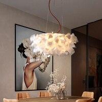 Decoration Flower Pendant Lighting Modern Dinning Room LED Pendant Lamp Home Indoor Light Fixture For Bedroom/Living Room