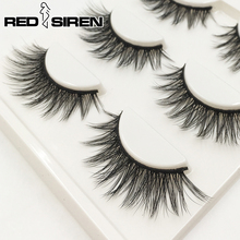 Get more info on the RED SIREN 3 Pairs Lashes Hot Sale 3d15 Soft Natural 3d Lashes Handmade Faux Mink Lashes Makeup False Eyelashes