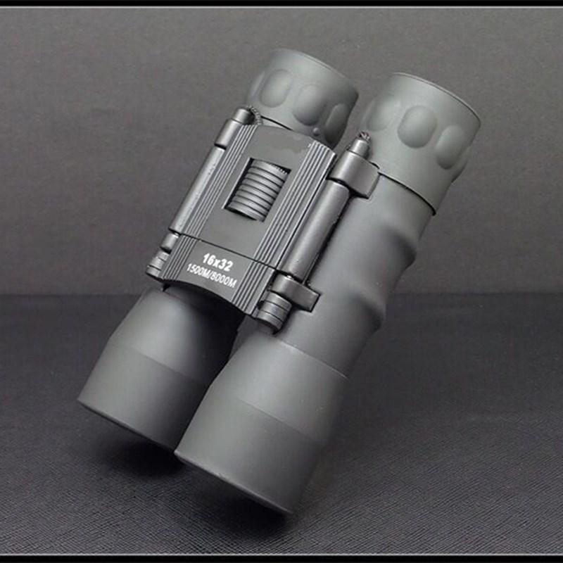 16X32 dürbün askeri HD güçlü profesyonel teleskop katlanır Mini teleskop Zoom BAK4 FMC optik avcılık açık Sco