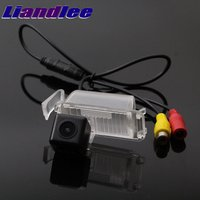 Liandlee Car Rear View Camera For Chevrolet Camaro Bumblebee 2009~2015 Night Vision Reversing Camera Car Back up CAM HD CCD