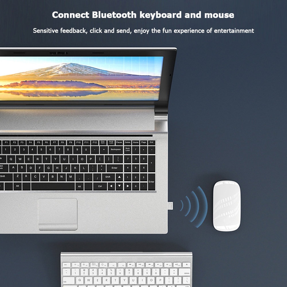 ORICO Mini USB Bluetooth 5.0 Adapter Computer PC Mouse Keyboard Speaker Music Wireless Bluetooth Dongle Receiver Transmitter 4