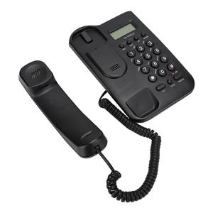 Image 4 - 유선 전화 집 전화 FSK/DTMF 듀얼 시스템 호텔 유선 데스크탑 벽 전화 사무실 유선 전화 핸들 케이블 전화