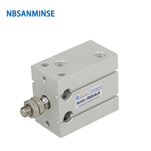 NBSANMINSE CU 6 10 16 20 25 32mm Free Mount Cylinder SMC Cylinder Double Acting Single Rod Pneumatic air cylinder cdu20 90d smc air pneumatic pneumatic air tools air cylinder free mount cylinder