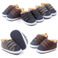 Baby Boys Girls Breathable Anti Slip Shoes Soft Sole Baby Shoes Autumn Sneakers Toddler Soft Soled Patchwork Color Walking Shoe