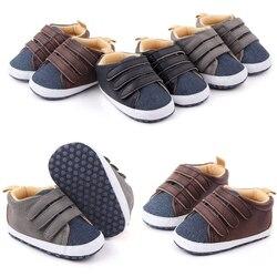 Chaussures antidérapantes respirantes pour bébés garçons et filles   Baskets d'automne pour bébés à semelle souple, chaussures de marche de couleur Patchwork pour tout-petits