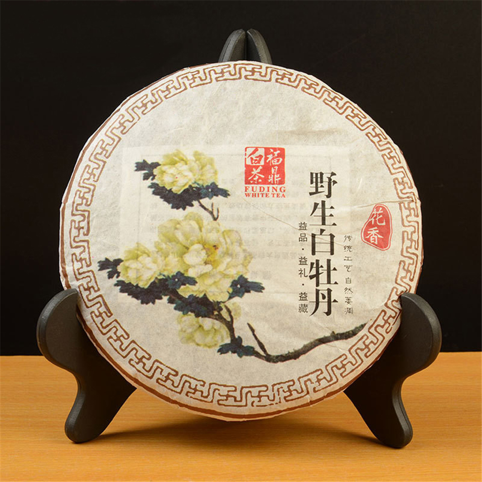 300g High Quality White Tea Chinese Fujian Fuding White Peony Tea Wild Old White Tea Green Food Lowering Blood Pressure Tea