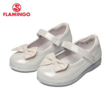 School shoes Flamingo 92T-XY-1451/52 shoes for girls leather insole shoes for children grafalex xy 201