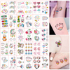 30pcs Temporary Tattoos Hyun A Cute Stickers And Decals Women's Tattoos And Body Art Waterproof Fake Tattoo Cartoons