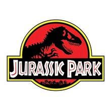 Забавная наклейка Volkrays для парка Юрского периода, креативные автомобильные наклейки динозавров, водонепроницаемые аксессуары, наклейка на...
