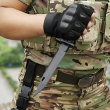M9 Dagger Model Tactical Plastic Bayonet for Gift Toy Army Fan Collect CS Game Military Training Outdoor Tools Rubber Knife