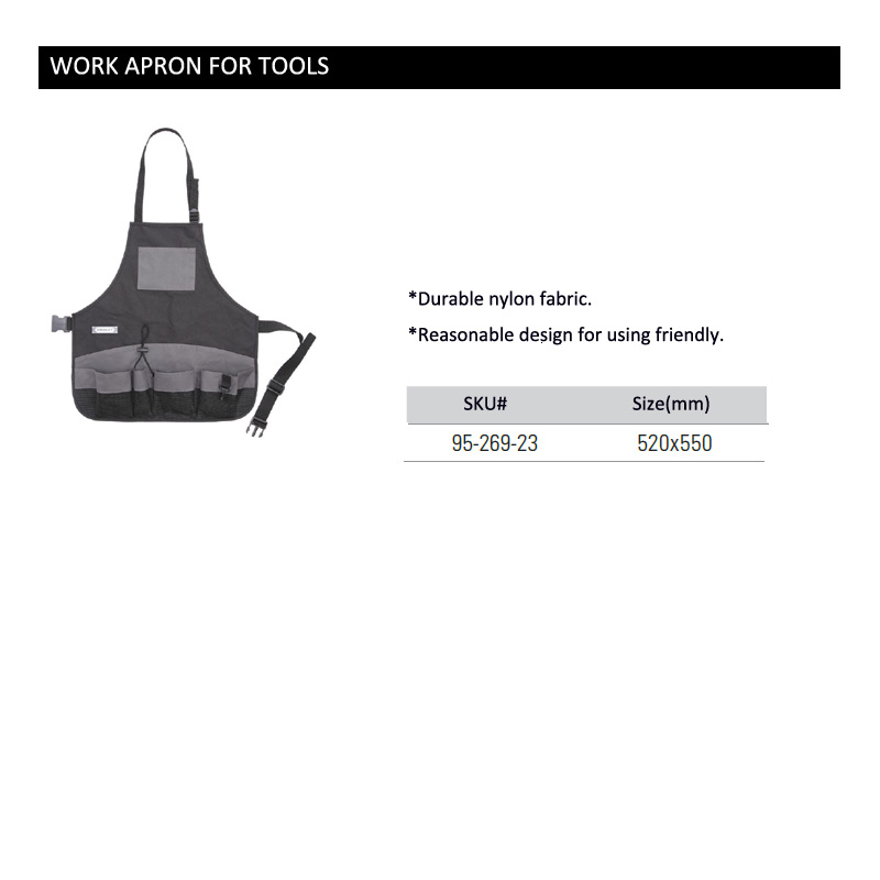 Work apron for tools
