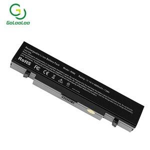 Image 2 - 6600mah New Laptop Battery AA Pb9ns6b pb9nc6b For Samsung R540 R519 R525 R430 R530 RV511 RV411 np300v5a R528 AA PB9NS6B PB9NC6B
