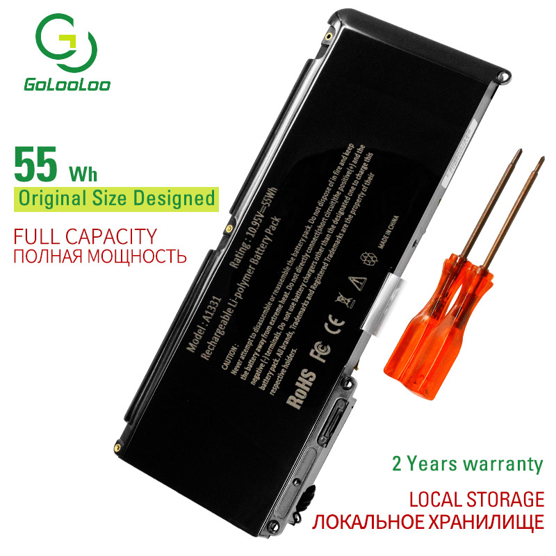 Golooloo10.95V New Laptop Battery For Apple MacBook 13.3