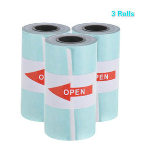 Thermal-Paper Sticker Paper-Roll Self-Adhesive Printable Peripage with Direct 57--30mm